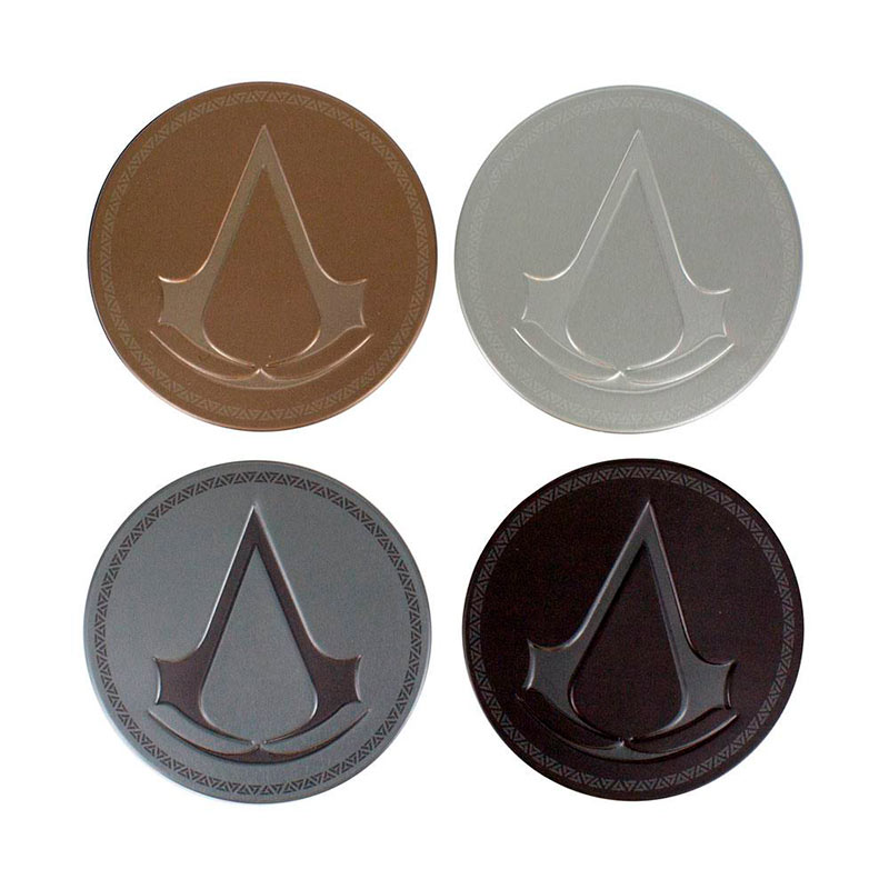 4 posavasos Assassin's Creed