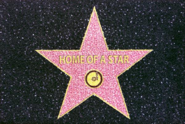 Alfombra Estrella Hollywood