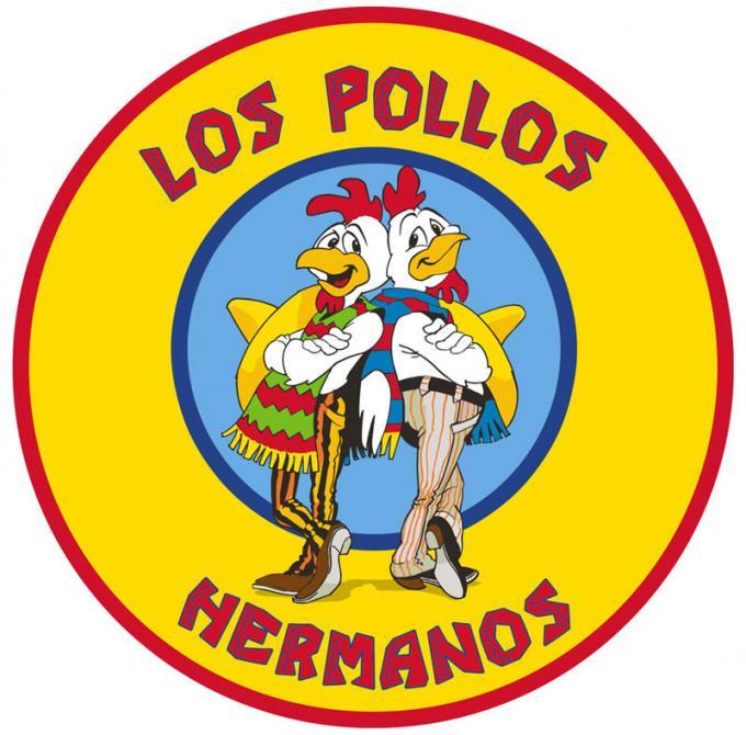 Alfombra Los Pollos Hermanos 90 x 90 cm. Breaking Bad