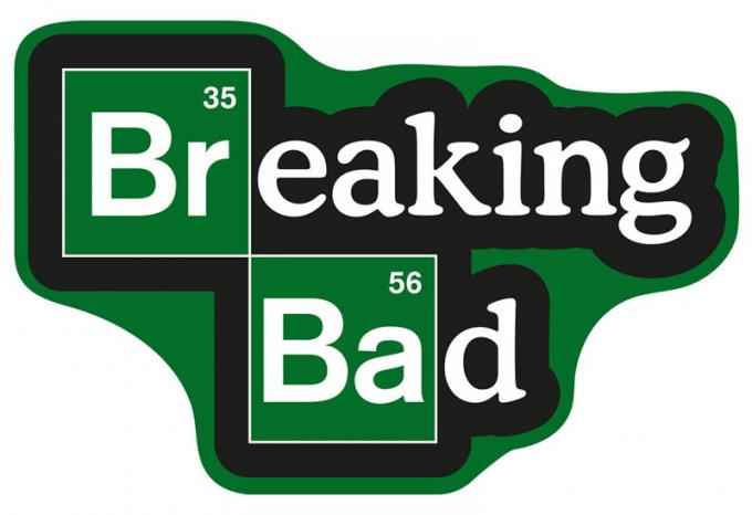 Alfombra logo 85 x 55 cm. Breaking Bad