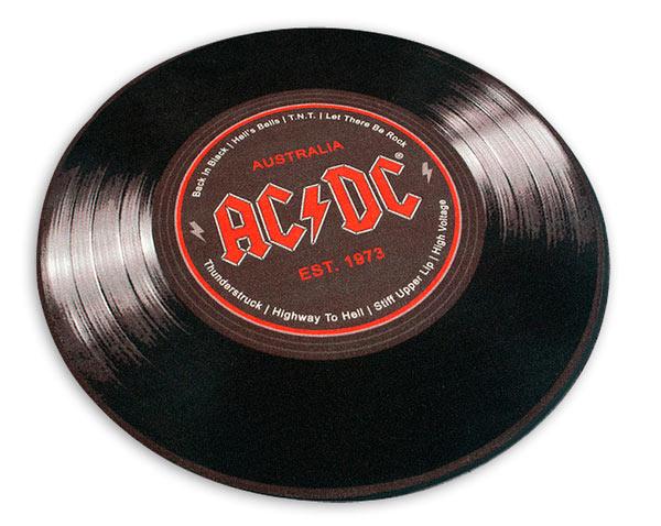 Alfombra logo AC/DC