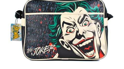 Bandolera Joker cara y risas. Batman y DC Comics