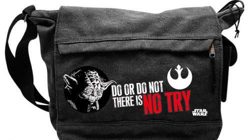 Bandolera Yoda. Do. Or do not. There is no try. Star Wars