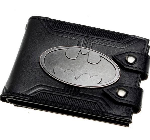 790508c7e Billetera Batman, logo de metal. DC Comics por 21,49€ | Qué Friki