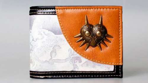 Billetera Majora's Mask. The Legend of Zelda