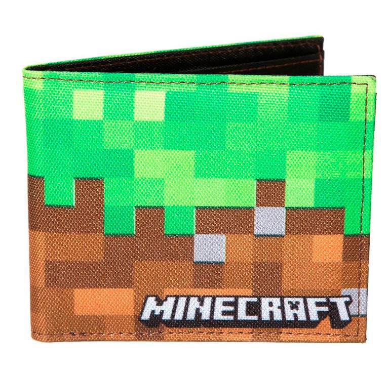 Billetera Minecraft. Dirt Block multicolor