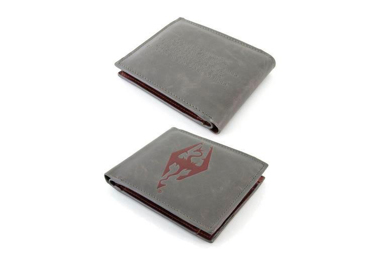 Billetera The Elder Scrolls Online. Tri-Fold Dragonborn