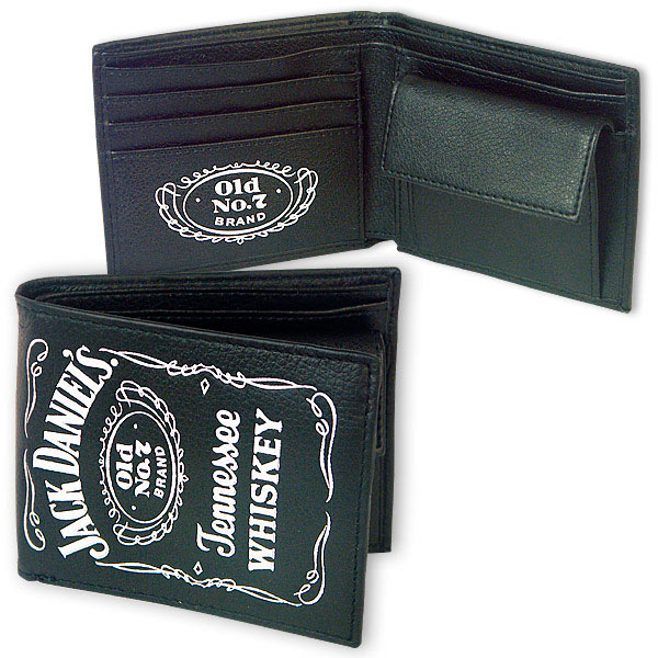 Billetera monedero Jack Daniels