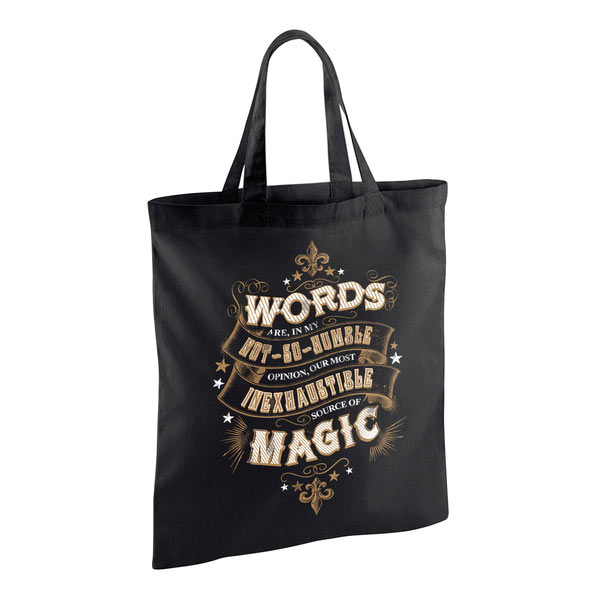 Bolsa Words of Magic. Harry Potter