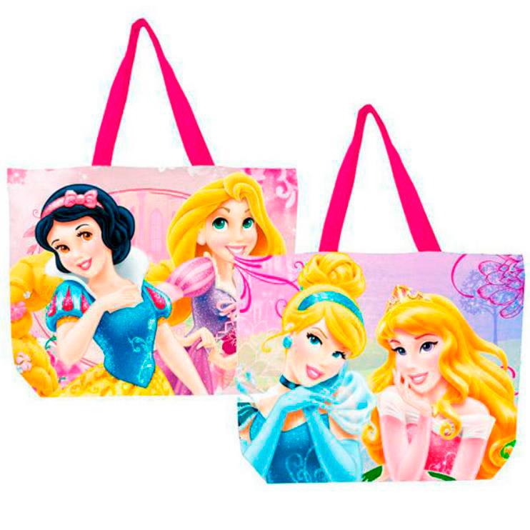 Bolsa de playa Princesas Disney. 52cm