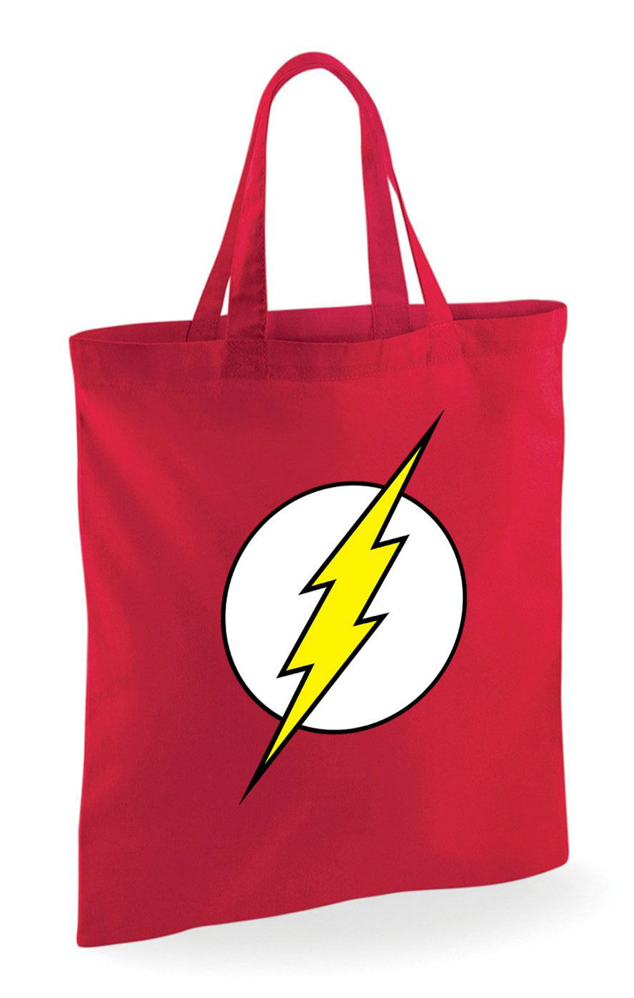 Bolsa logo The Flash 40 x 30 cm