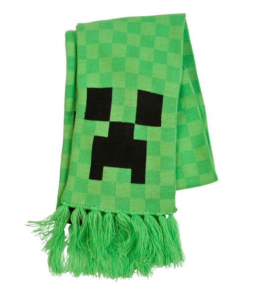 Bufanda Minecraft. Creeper
