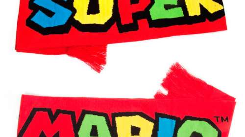 Bufanda Super Mario. Nintendo