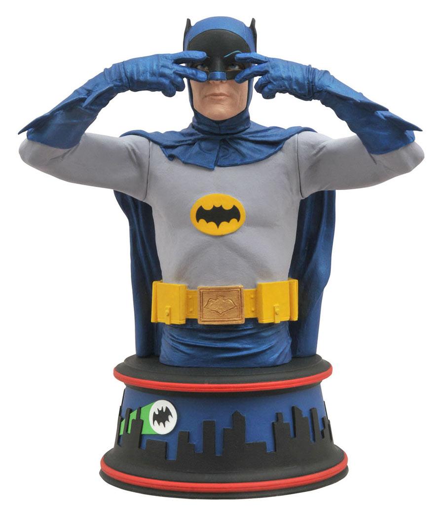 Busto Batman 15 cm. Baile Batusi. Versión año 1966. Diamond Select