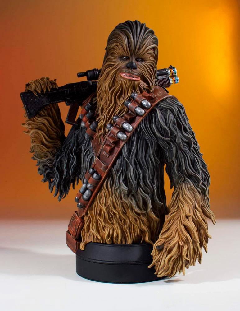 Busto Chewbacca 17 cm. Han Solo: Una Historia de Star Wars. Escala 1:6. Gentle Giant