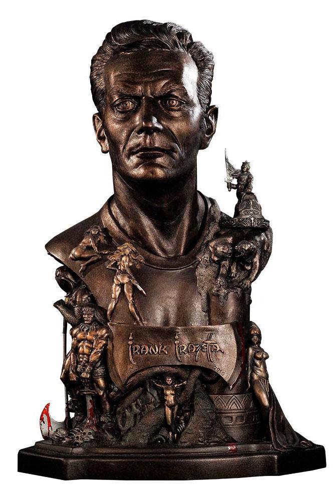 Busto Frank Frazetta Tribute 48 cm. Black Heart Enterprises