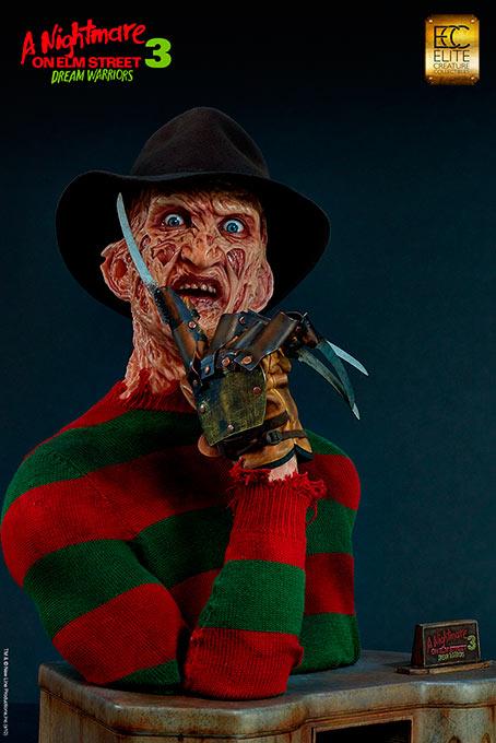 Busto Freddy Krueger