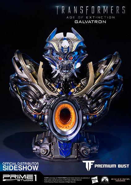 Busto Galvatron 23 cm. Transformers: la era de la extinción. Versión Premium. Prime 1 Studio