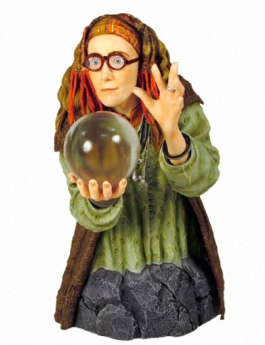 Busto Harry Potter. Profesora Trelawney