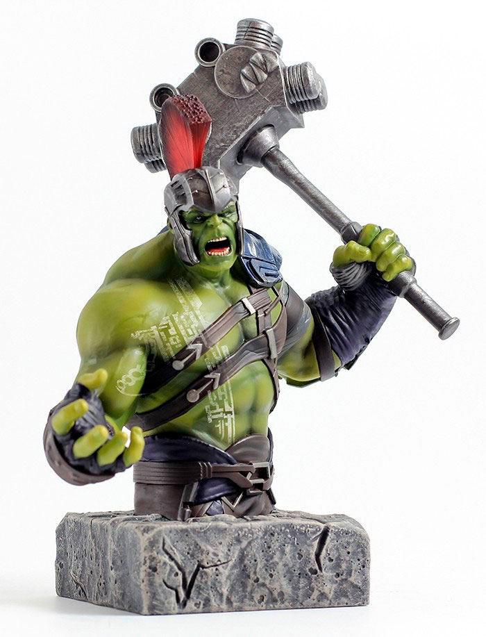 Busto Hulk 24 cm. Thor: Ragnarok. Escala 1:6. Semic