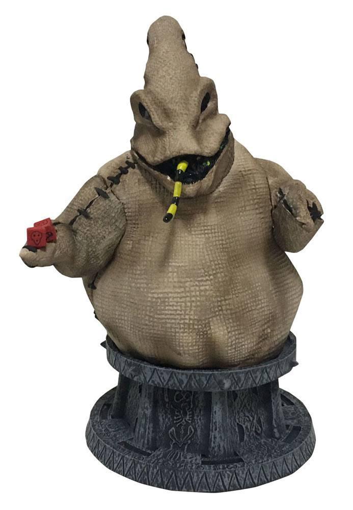 Busto Oogie Boogie 18 cm Pesadilla antes de Navidad. Edición limitada. Diamond Select