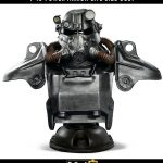 Busto T-45 Power Armor 76 cm. Fallout. Escala 1:1. Tamaño real. Con luz. Edición limitada. Gaming Heads