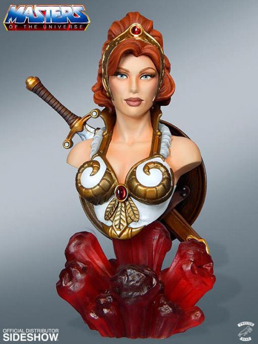 Busto Teela 18 cm. Masters del Universo. Tweeterhead