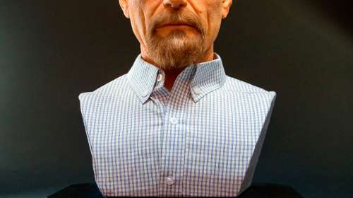 Busto Walter White 54 cm. Breaking Bad. Escala 1:1. Tamaño real. Supacraft