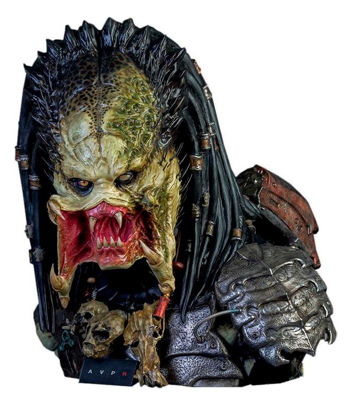 Busto Wolf Predator 65 cm. Alien vs. Predator 2. Escala 1:1. Tamaño real. CoolProps