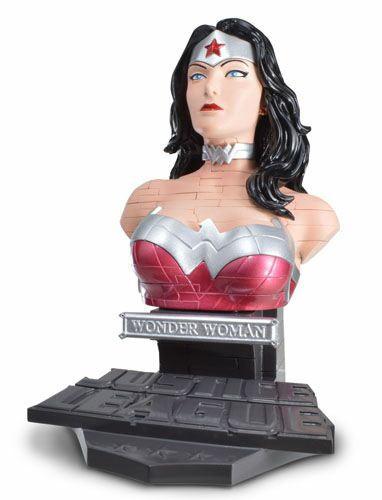 Busto puzzle 3D Wonder Woman 15 cm. Happy Well. DC Cómics