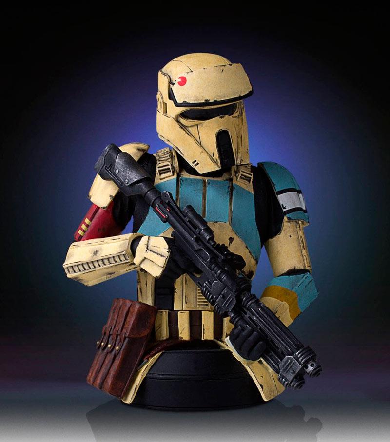 Busto soldado asalto Shoretrooper 16 cm. Rogue One: A Star Wars Story. Escala 1:6. Gentle Giant
