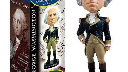Cabezón George Washington 20 cm. Royal Bobbles