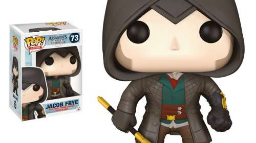 Cabezón Jacob Frye 9 cm. Assassin's Creed: Syndicate. Línea POP! Games. Funko