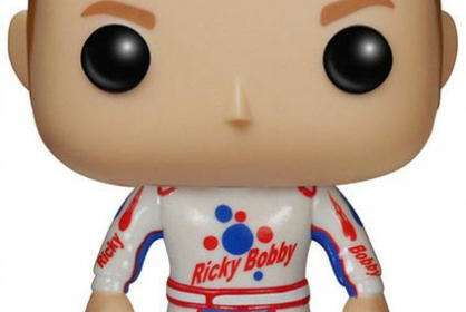 Cabezón Ricky Bobby 9 cm. Pasado de Vueltas. Línea POP! Movies. Funko