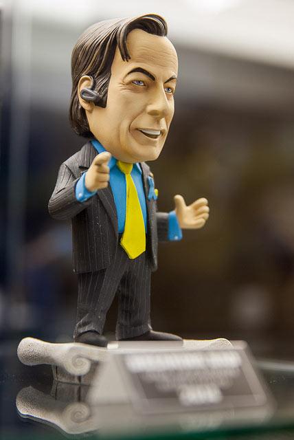 Cabezón Saul Goodman 15 cm. Breaking Bad. Mezco Toys