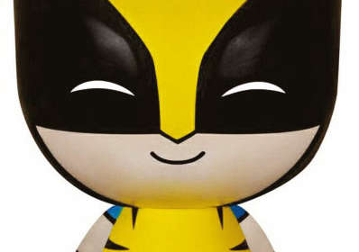Cabezón Wolverine 8 cm. X-Men. Línea Dorbz. Serie 1. Marvel Cómics. Funko