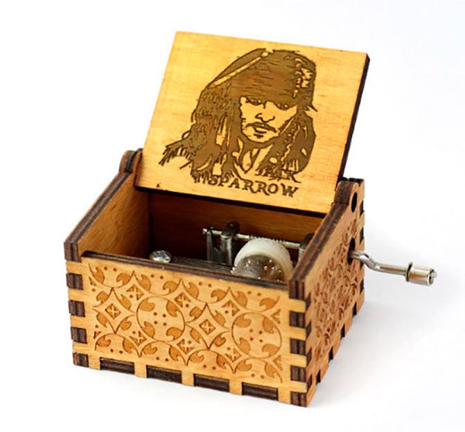 Caja de música Piratas del Caribe