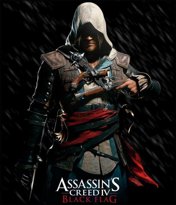 Camiseta Assassin's Creed IV: Black Flag. Edward Kenway