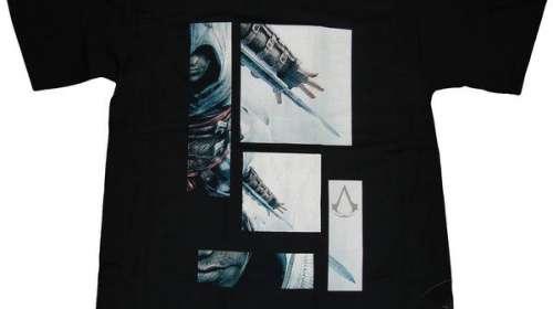 Camiseta Assassin's Creed. Bloques