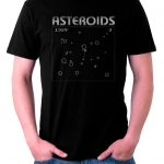 Camiseta Asteroids Game vintage