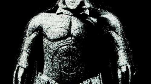 Camiseta Batman The Dark Knight. Cuerpo