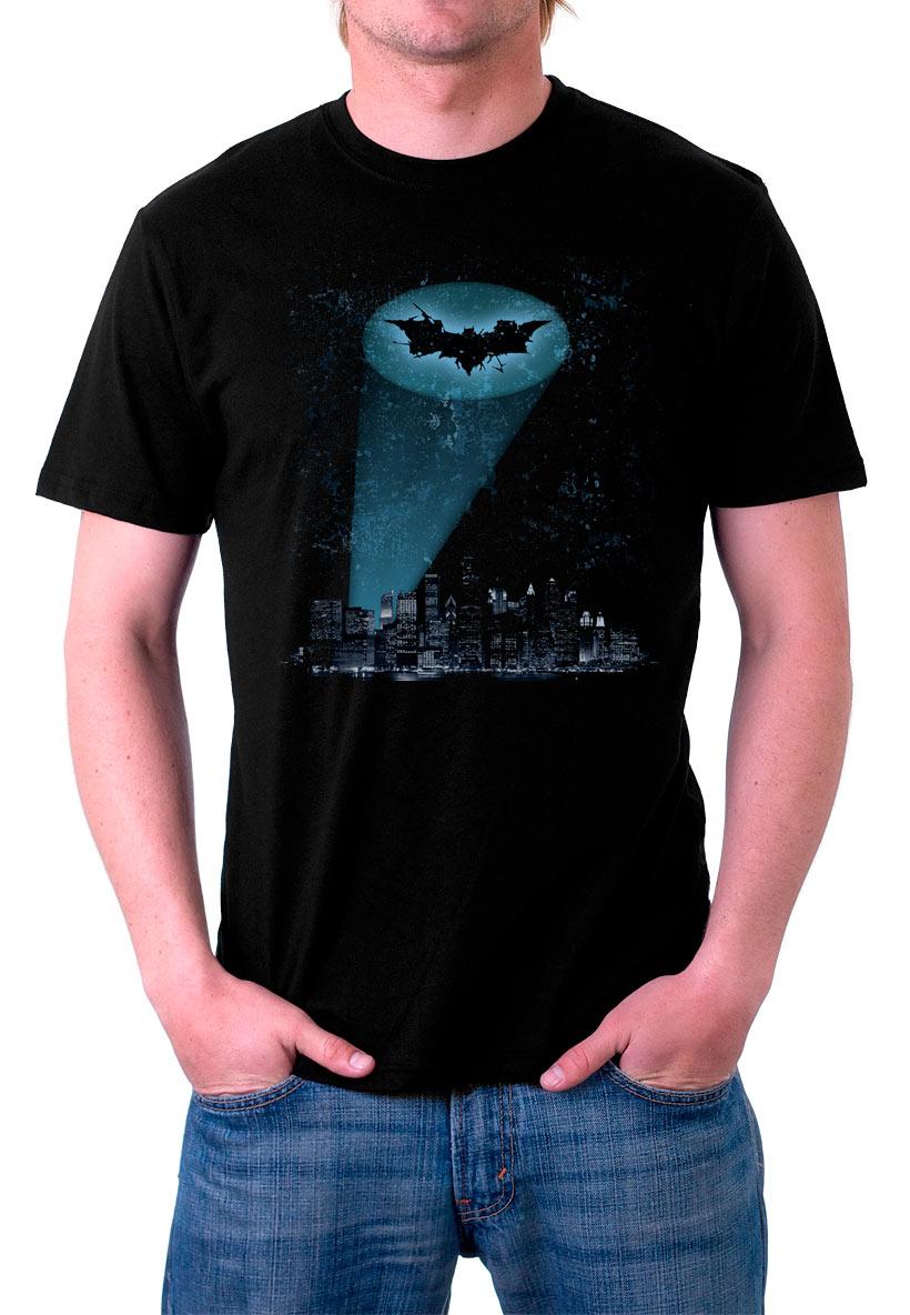 Camiseta Batman ciudad de Gotham