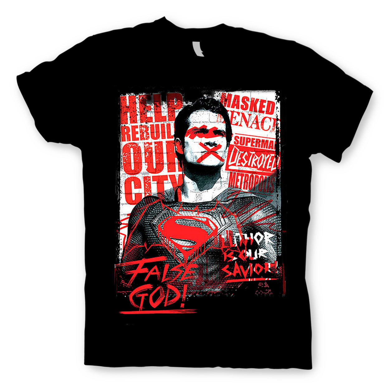Camiseta Batman v Superman: El Amanecer de la Justicia
