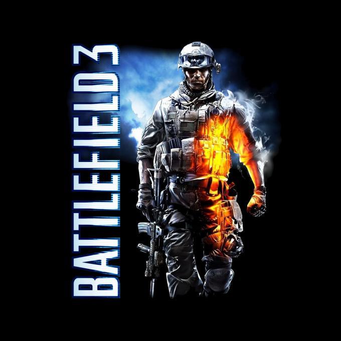Camiseta Battlefield 3. Portada