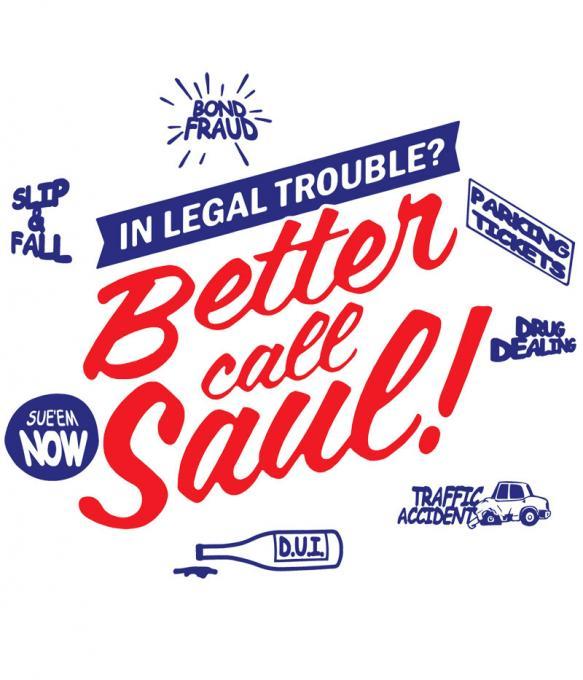 Camiseta Better Call Saul. Breaking Bad. Modelo 1