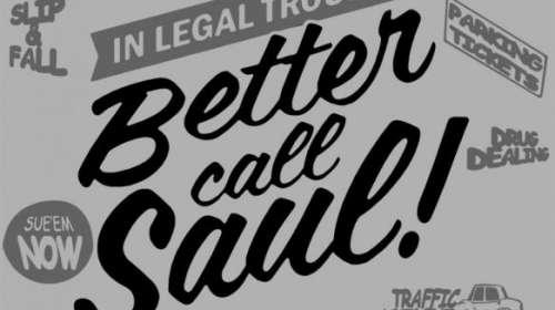 Camiseta Better Call Saul. Breaking Bad. Modelo 3