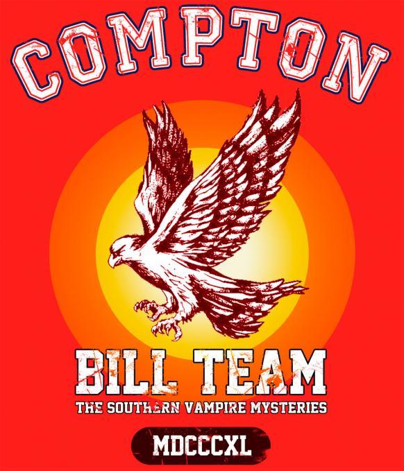 Camiseta Bill Compton team. True Blood