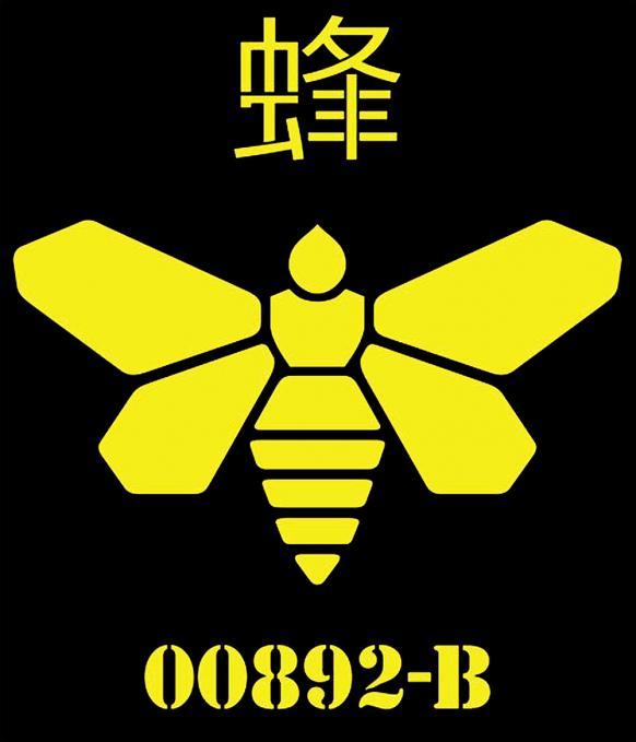 Camiseta Breaking Bad. Bee