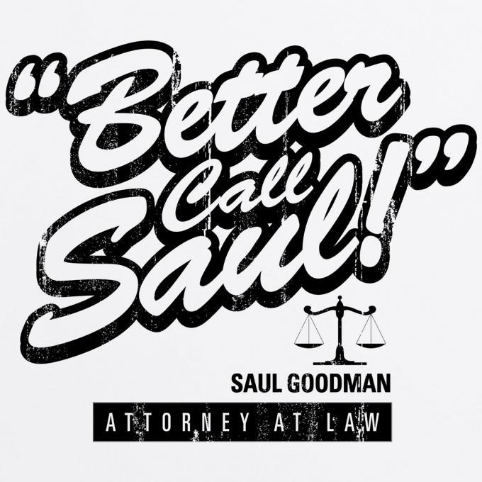 Camiseta Breaking Bad. Better Call Saul