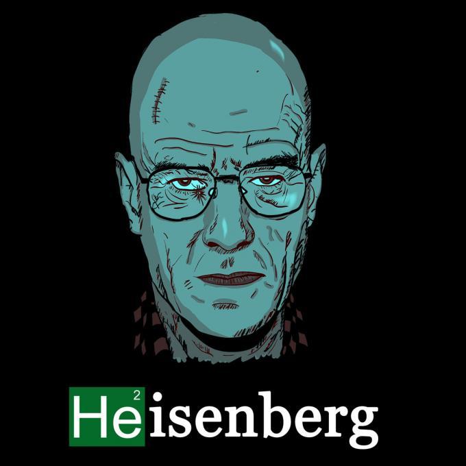 Camiseta Breaking Bad. Heisenberg